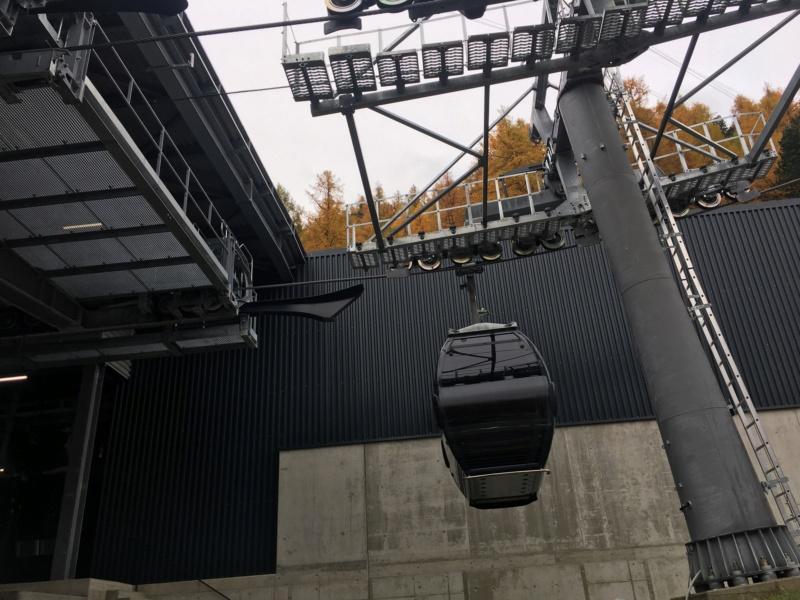 Télécabine débrayable 10 places (TCD10) Kalbermatten - Biffig- Spielboden Img-3714