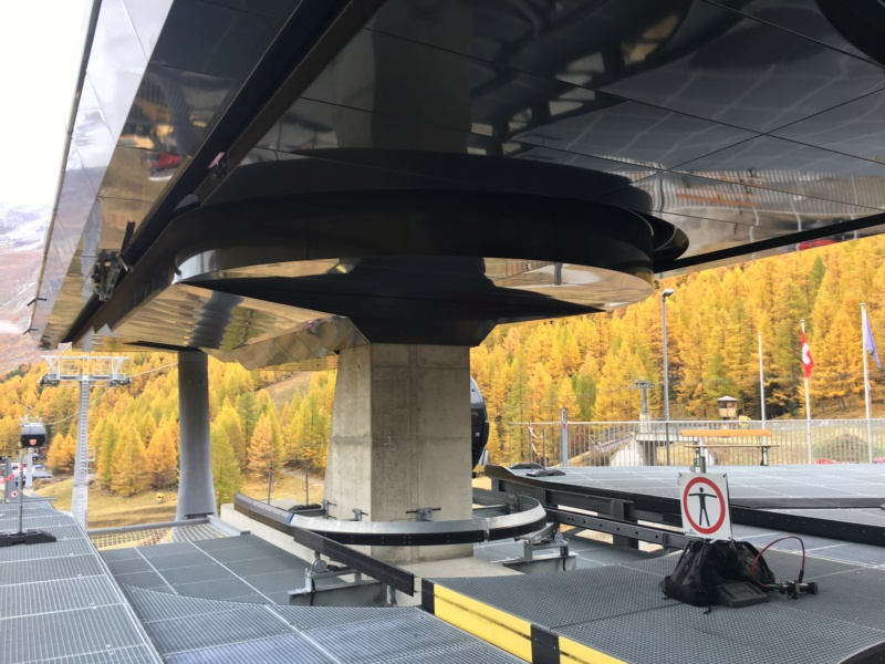 Télécabine débrayable 10 places (TCD10) Kalbermatten - Biffig- Spielboden Img-3835