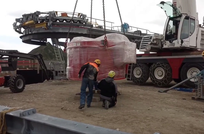 Construction télésiège débrayable TSD6 Lovatière | La Plagne Img00210