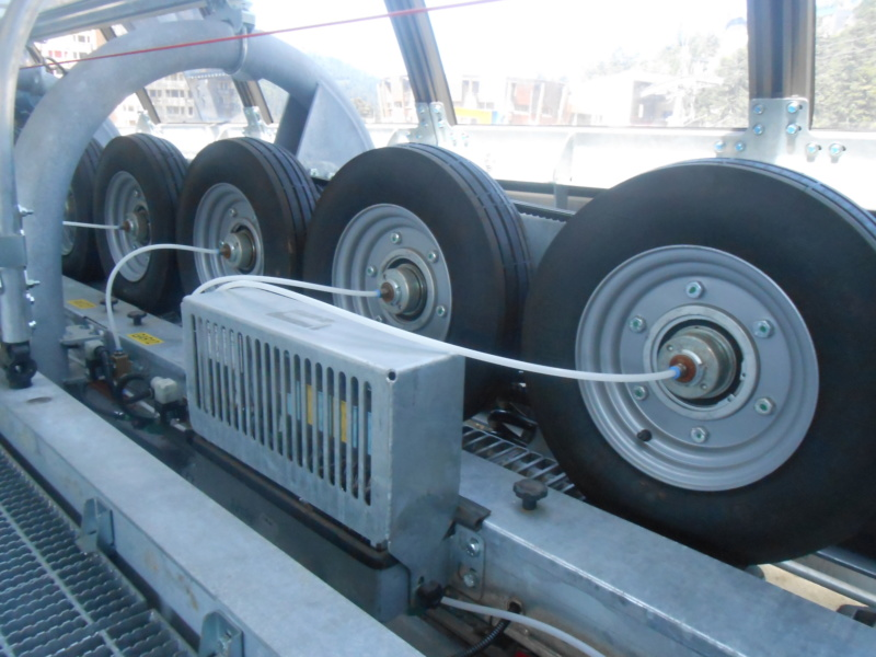 Garage des sièges et cabines - Remontées mécaniques Interr10