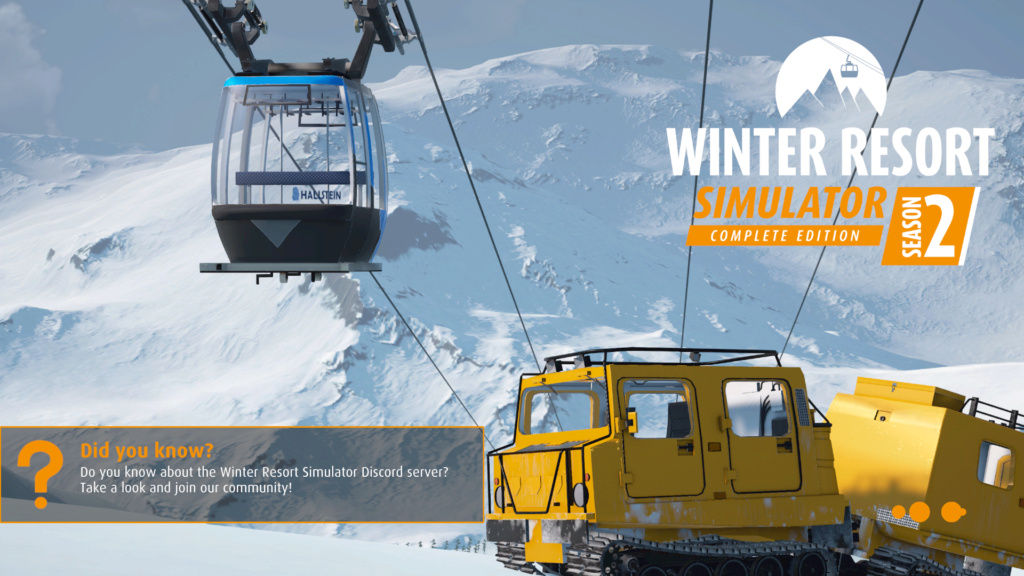 Winter Resort Simulator Itw211