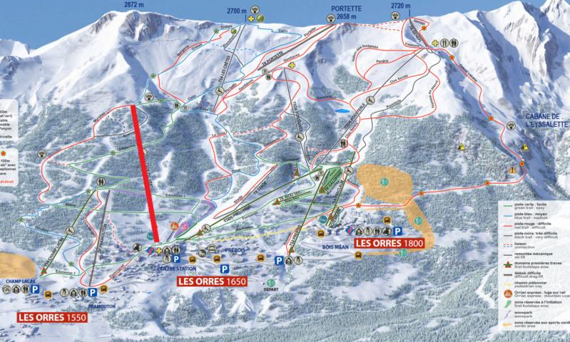 Télésiège débrayable 6 places (TSD6) Pic Vert / D-Line Les_or11