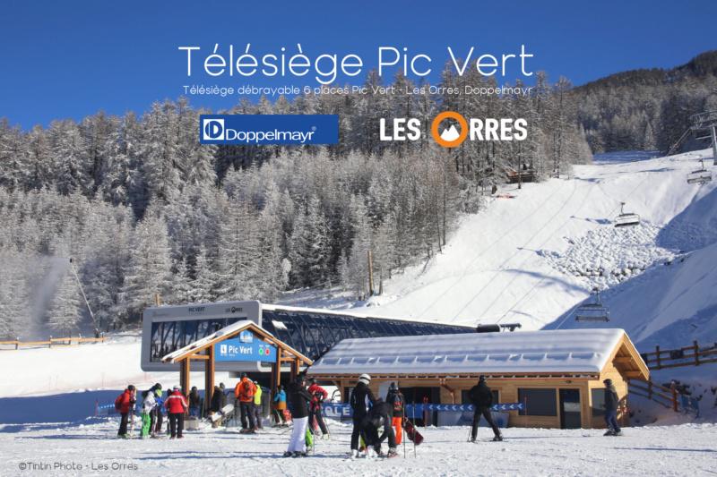 Télésiège débrayable 6 places (TSD6) Pic Vert / D-Line Lesorr10