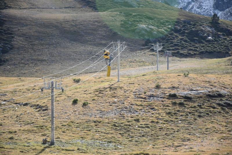 Téléski à enrouleurs (TKE1) Els Orris Ligne-48