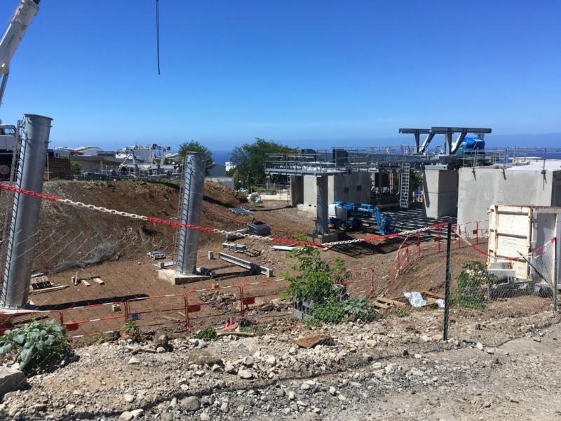 Construction télécabine débrayable 10 places (TCD10) La Réunion CINOR Moufia10