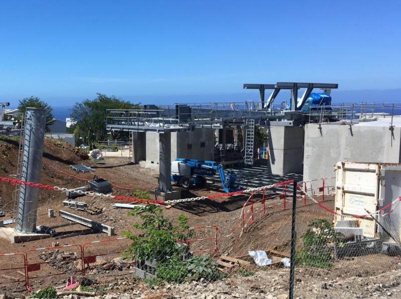 Construction télécabine débrayable 10 places (TCD10) La Réunion CINOR Moufia11