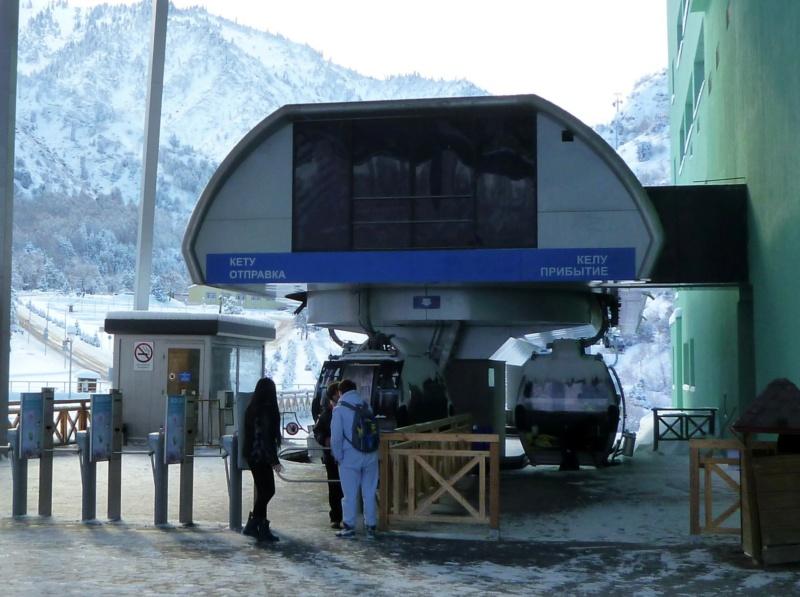 Télécabine 8 places (TCD8) Medeo Chimbulak P1070330