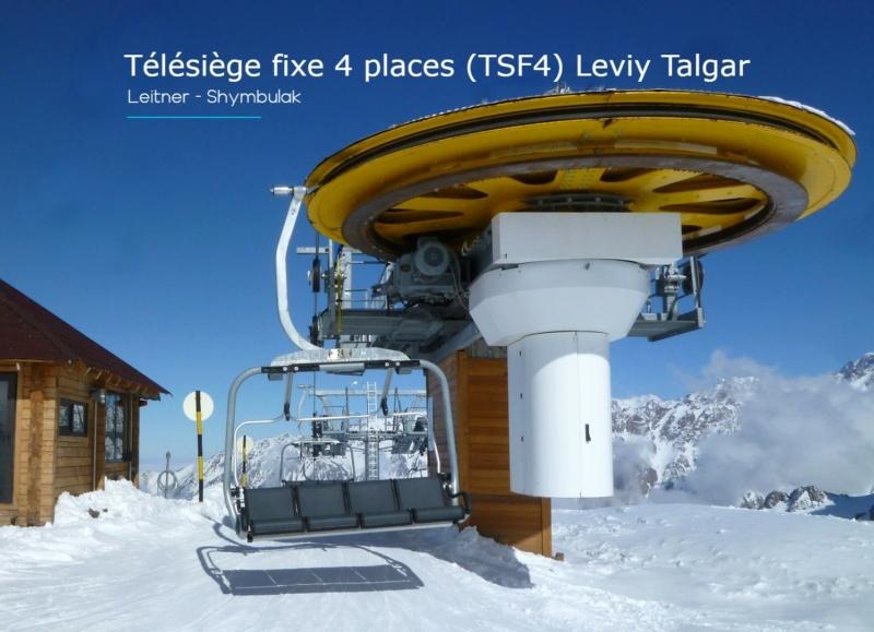 Télésiège fixe 4 places (TSF4) Leviy Talgar - Shymbulak P1070425