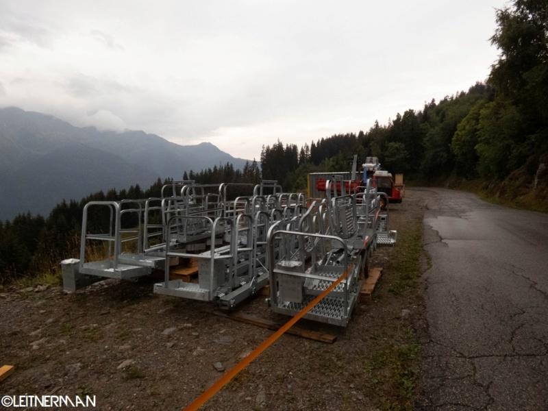 Construction télécabine débrayable (TCD10) Rosières - Les Saisies P1220111