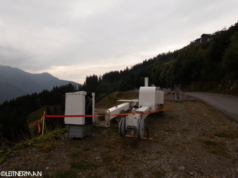 Construction télécabine débrayable (TCD10) Rosières - Les Saisies P1220112