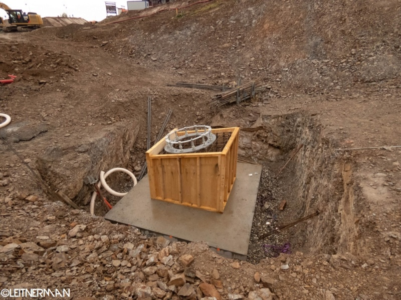 Construction télécabine débrayable (TCD10) Rosières - Les Saisies P1220115