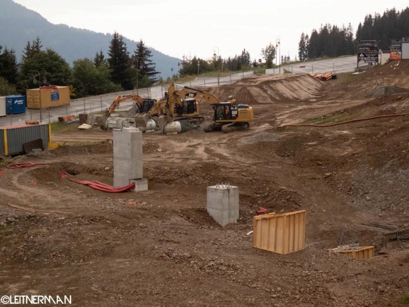 Construction télécabine débrayable (TCD10) Rosières - Les Saisies P1220117