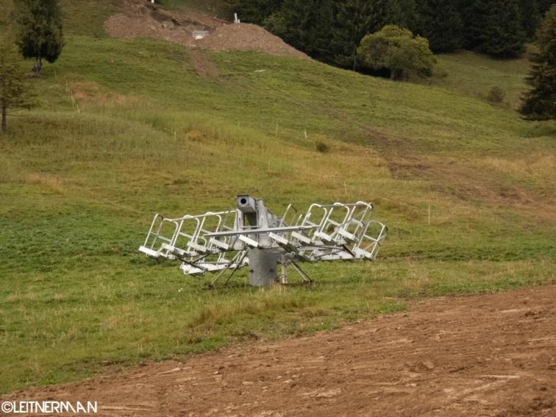 Construction télécabine débrayable (TCD10) Rosières - Les Saisies P1220118