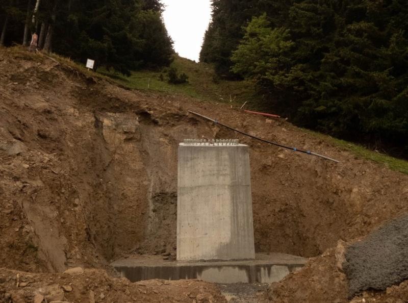 Construction télécabine débrayable (TCD10) Rosières - Les Saisies P1220119