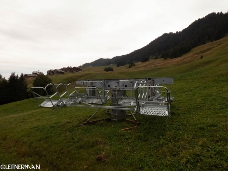 Construction télécabine débrayable (TCD10) Rosières - Les Saisies P1220120