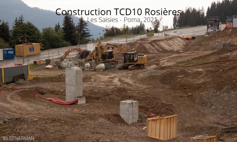 Construction télécabine débrayable (TCD10) Rosières - Les Saisies P1220123