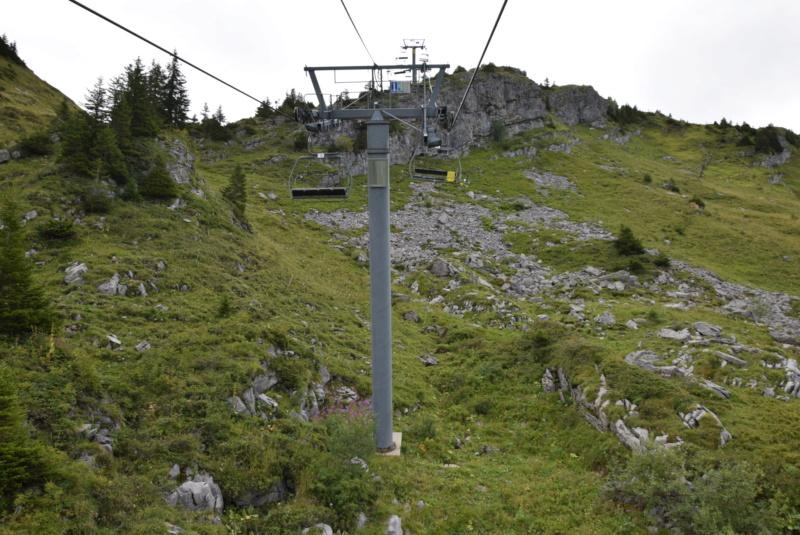 Télésiège débrayable 4 places (TSD4) Mossettes France P14-ts22