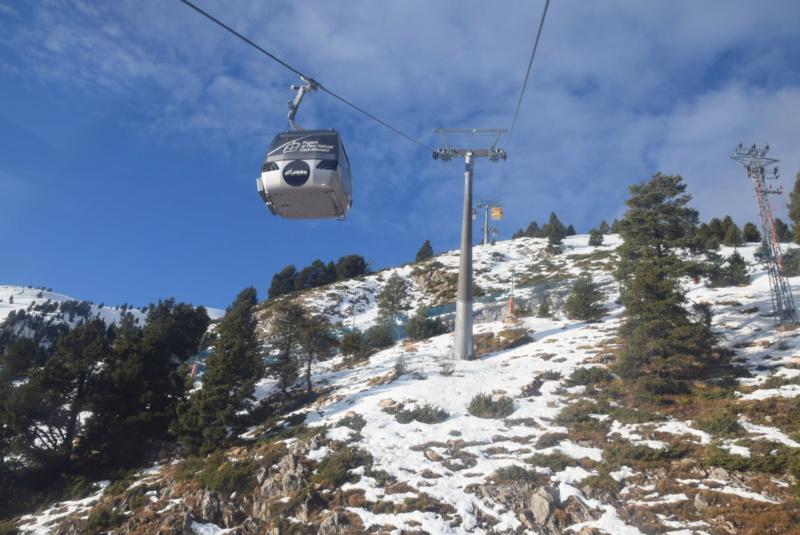Télécabine débrayable 8 places (TCD8) Cadi-Moixero - Alp 2500 P17-tc10