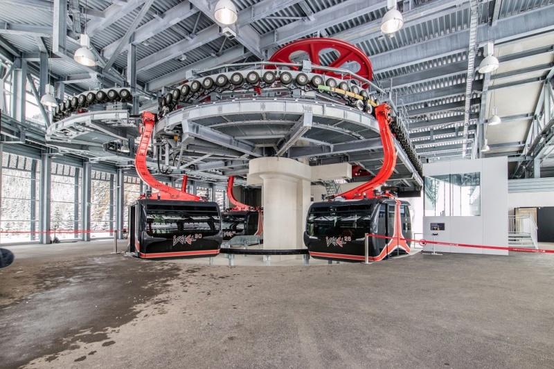 Téléphérique 3S débrayable Pardatschgratbahn - Ischgl Pardat14