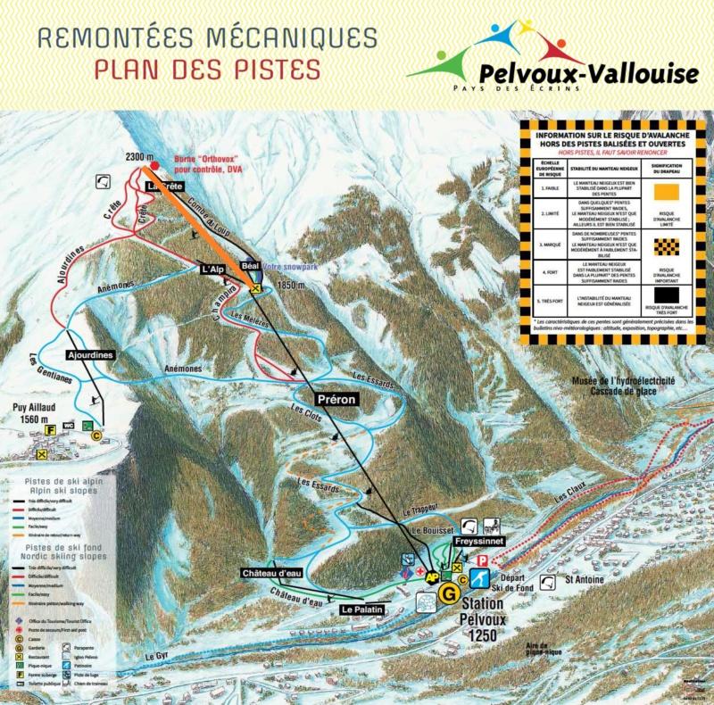 Construction du télésiège fixe 4 places (TSF4) de la Crête - Pelvoux-Vallouise (GMM) Pelvou10
