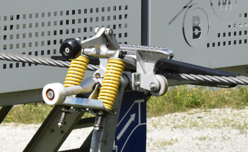 Les pinces débrayables - Remontées mécaniques Pince112