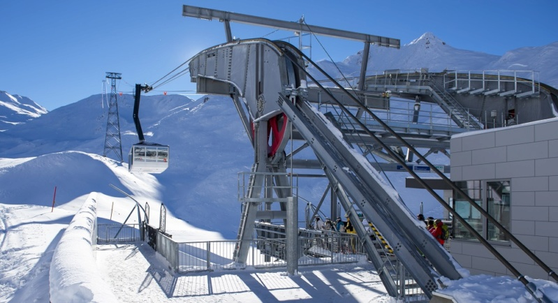 Téléphérique 150 places Piz Val Gronda (TPH150) - Ischgl Piz-va23