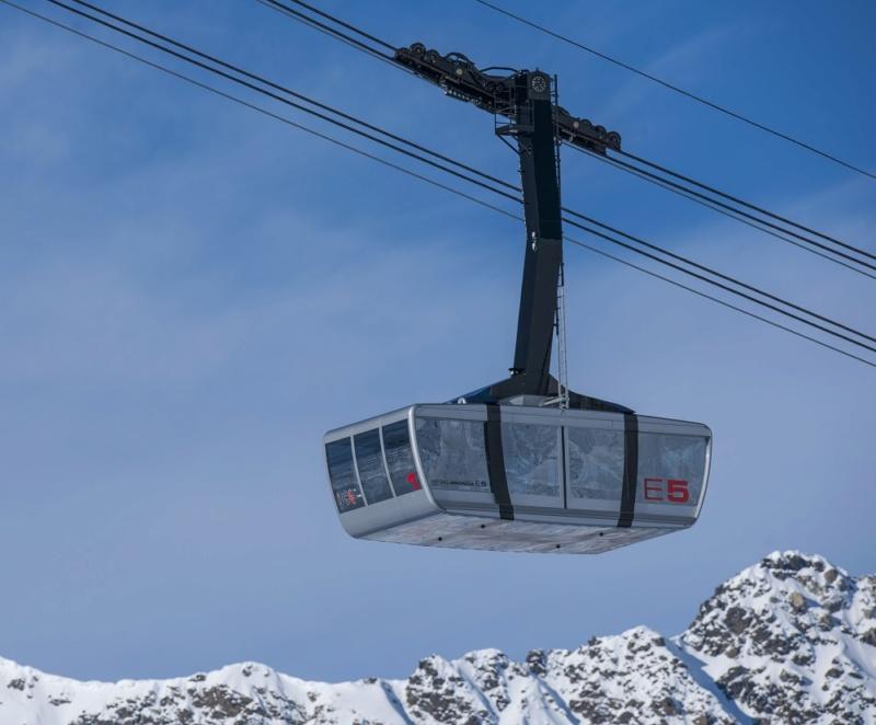 Téléphérique 150 places Piz Val Gronda (TPH150) - Ischgl Piz-va30