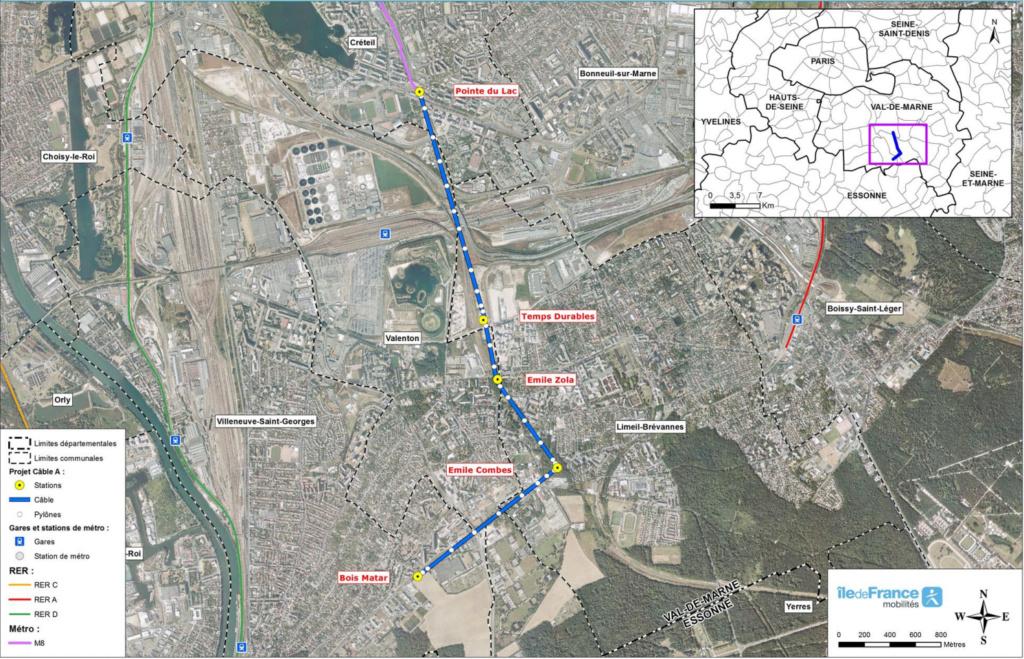Construction télécabine TCD10 Câble A Téléval - Paris Plan11