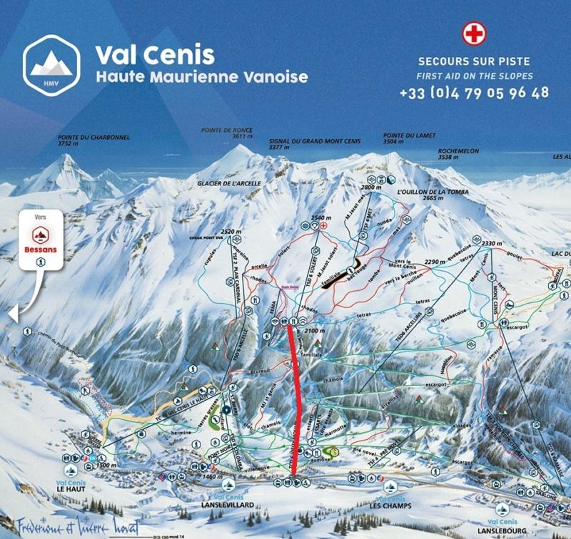 Construction télécabine débrayable 10 places (TCD10) du Vieux Moulin - Val Cenis, Leitner Plan_d10