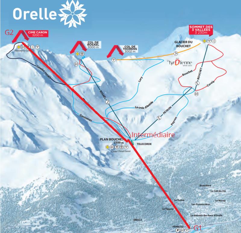 Construction télécabine débrayable 10 places (TCD10) Orelle - Caron 3 Vallées Express Plan_o10
