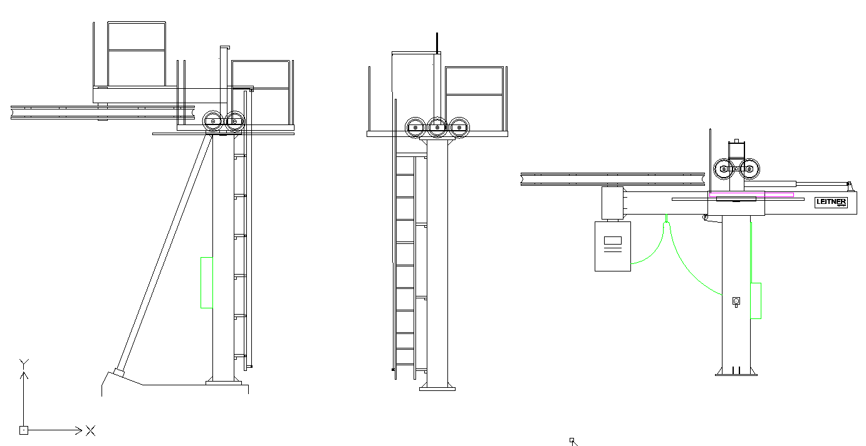 Dessins techniques, Plans 2D remontées mécaniques - Page 3 Plan_t10