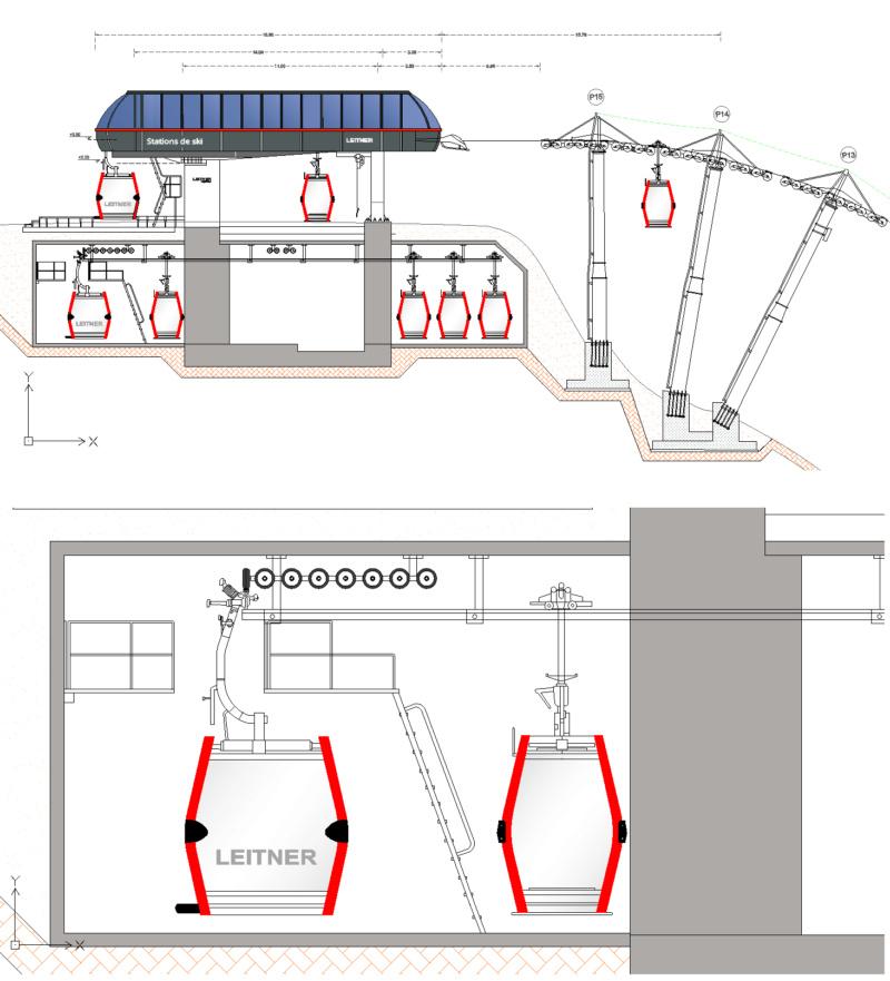 Dessins techniques, Plans 2D remontées mécaniques - Page 4 Plan_t11