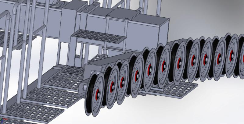 Dessins techniques & plans 3D remontées mécaniques Pylone13