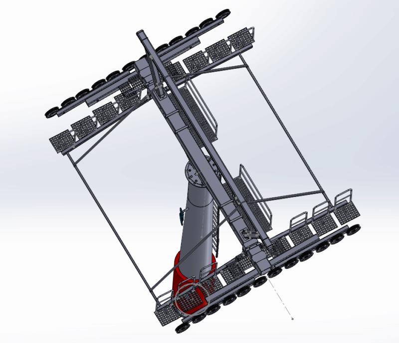 Dessins techniques & plans 3D remontées mécaniques Pylone16