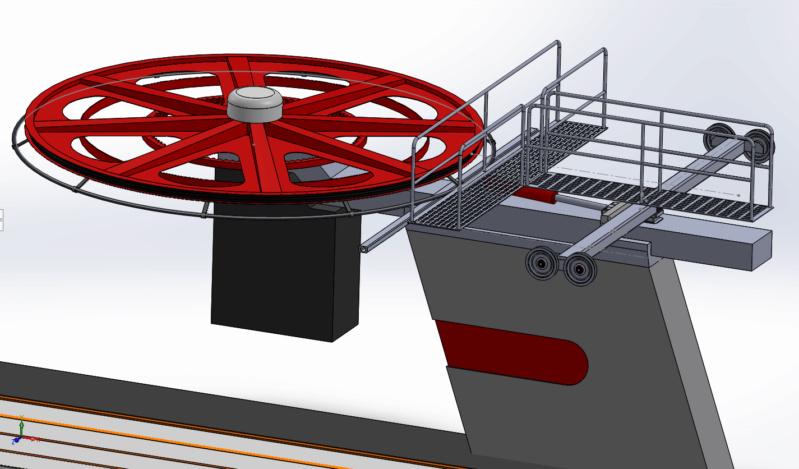Dessins techniques & plans 3D remontées mécaniques Pylone18