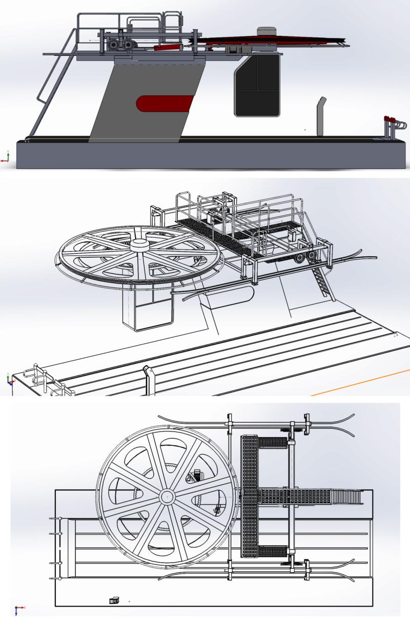 Dessins techniques & plans 3D remontées mécaniques Pylone20