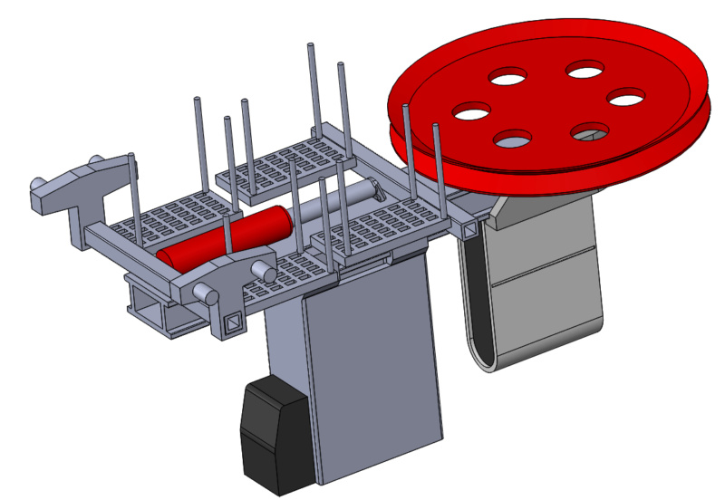 Impression 3D Pylône remontée mécanique miniature Pylone27