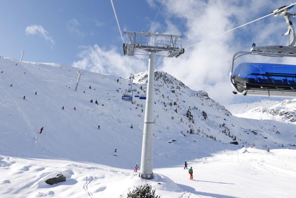 Télésiège débrayable 6 places (TSD6) Bendolla Col du Pouce Pylzne10