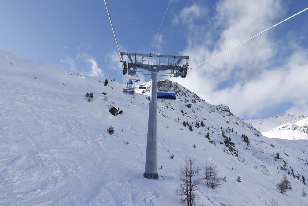 Télésiège débrayable 6 places (TSD6) Bendolla Col du Pouce Pylzne13