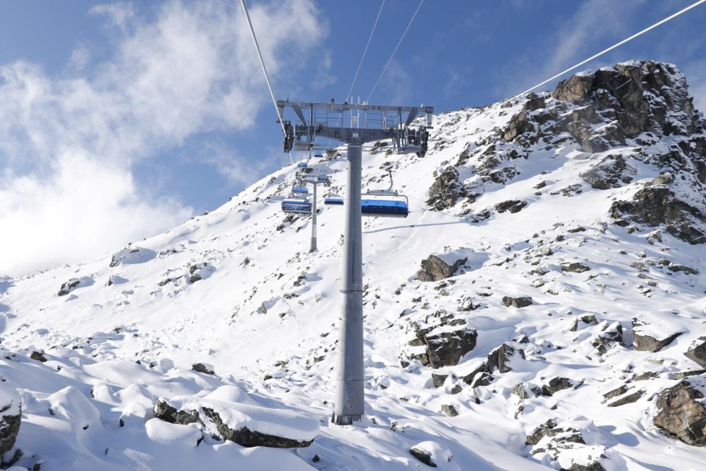 Télésiège débrayable 6 places (TSD6) Bendolla Col du Pouce Pylzne17