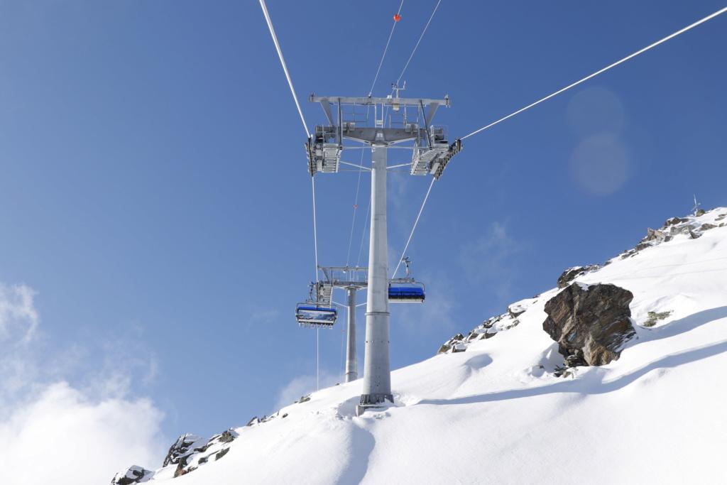 Télésiège débrayable 6 places (TSD6) Bendolla Col du Pouce Pylzne18