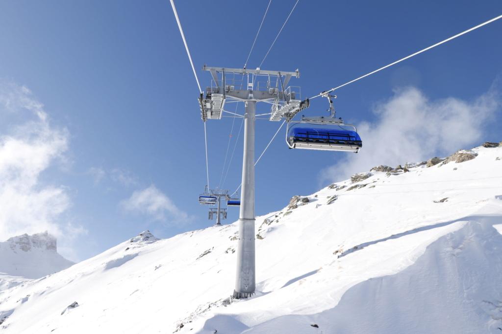 Télésiège débrayable 6 places (TSD6) Bendolla Col du Pouce Pylzne24