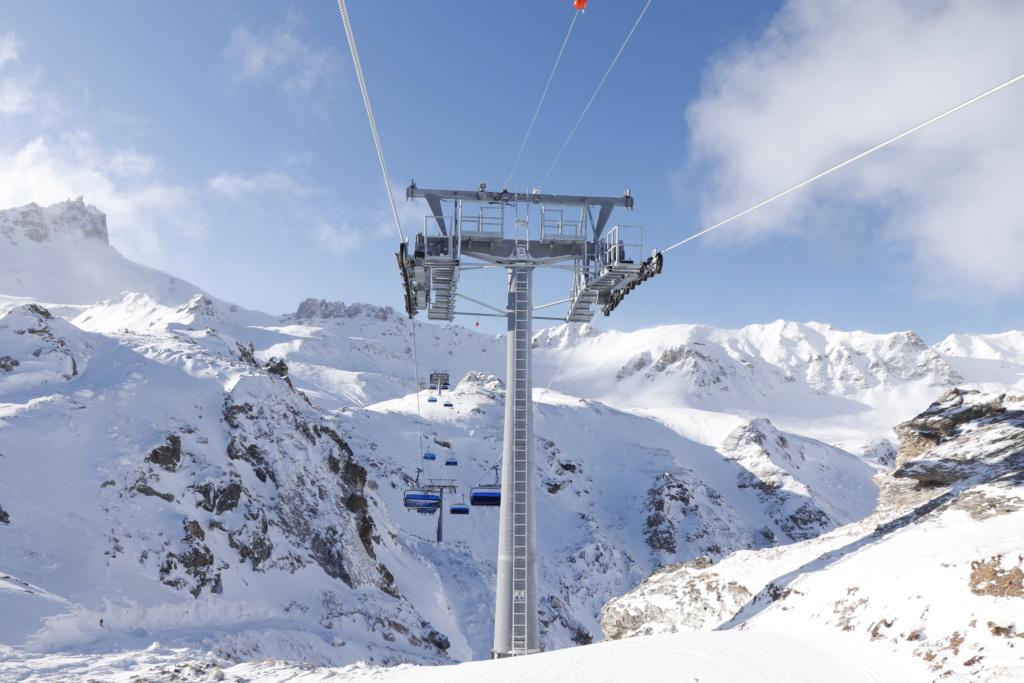 Télésiège débrayable 6 places (TSD6) Bendolla Col du Pouce Pylzne26
