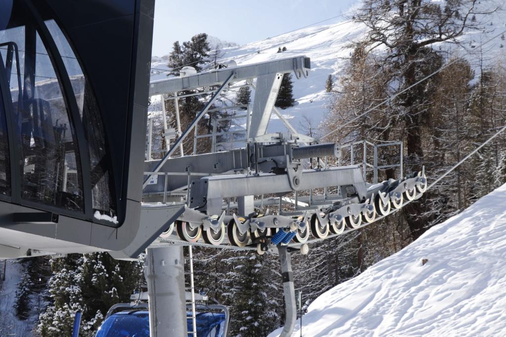 Télésiège débrayable 6 places (TSD6) Bendolla Col du Pouce Pylzne30