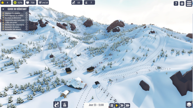 "Jeu station de ski ""Snowtopia"" Sno110"