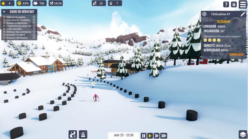 "Jeu station de ski ""Snowtopia"" Snow310"