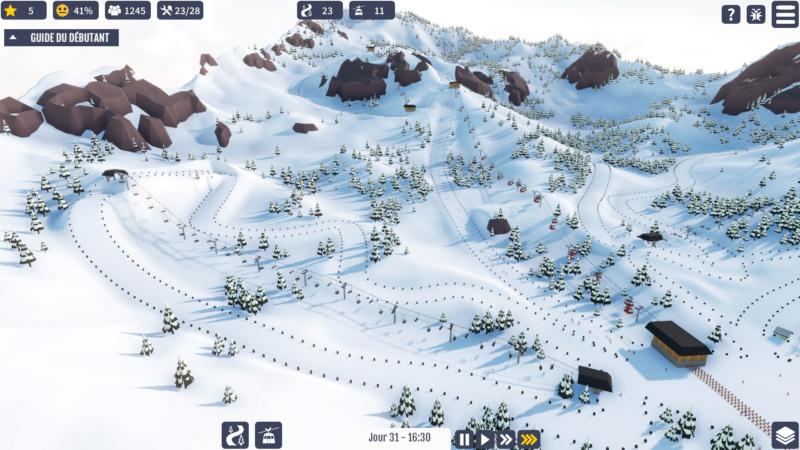 "Jeu station de ski ""Snowtopia"" Snow410"
