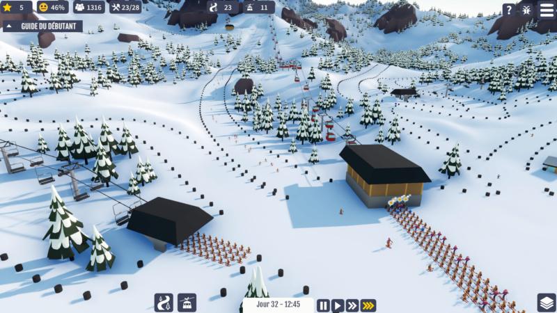 "Jeu station de ski ""Snowtopia"" Snow510"
