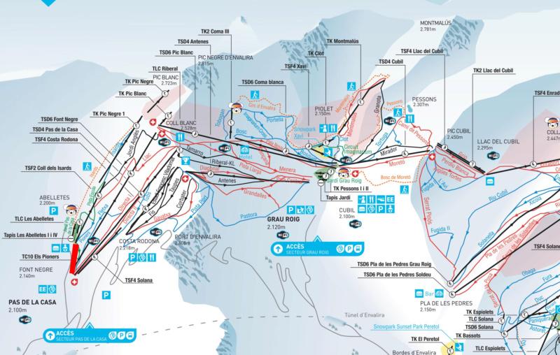 Télécabine débrayable 10 places (TCD10) Els Pioners Tcd_el10