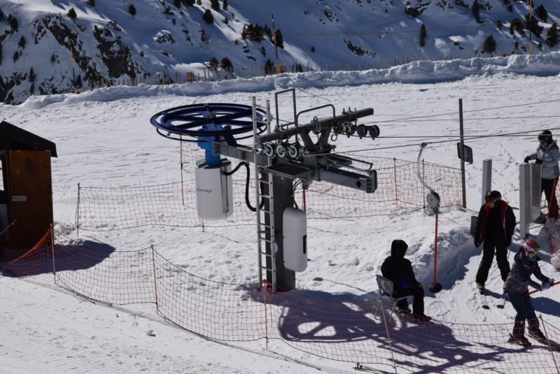 Téléski à enrouleurs 1 place (TKE1) Cortals I - Telesquies Tke-co11